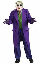 Adult Licensed Batman The Joker Mens Halloween Fancy Dress Costume Party Outfit