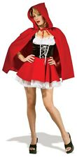 SALE! Adult Sexy Red Riding Hood Ladies Fancy Dress Hen Party Costume Outfit