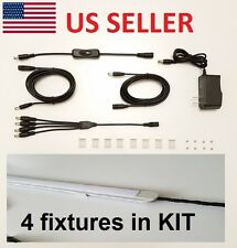 "4x24"" Kitchen Under Cabinet Lighting KIT LED SUPER BRIGHT"