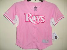Tampa Bay Rays girls(youth) Majestic MLB batting practice jersey