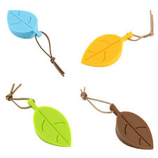 Silicone Leaves Decor Design Door Stop Stopper Jammer Guard Baby Safety Home New
