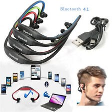 For Samsung IPhone Sports Wireless Stereo Bluetooth Headset Handfree Earphone
