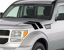 "Dodge NITRO Truck Fender Hood Hash Bars vinyl Racing Stripe Grand Sport 4"" Decal"