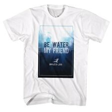 Bruce Lee T-Shirt Be Water White T-Shirt