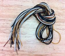 "(1 Pair) 45"" Rawhide Leather Shoe Boot Laces Shoelaces 1/8"" Width Timberland"
