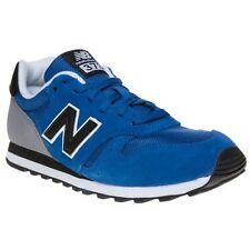 New Mens New Balance Blue 373 Suede Trainers Retro Lace Up