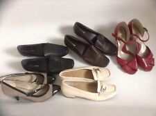Ladies Size 6 Marks + Spencer Shoes Footglove Moccasin And High Heel Strap S