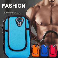 Cycling Sports Running Cell Phone Arm Band bag wrist Pouch Key Package