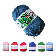 50g Tencel Bamboo Cotton Yarn For Baby Kids Children AD