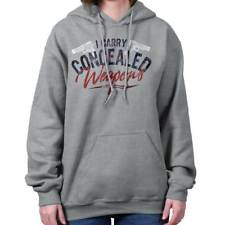 I Carry Concealed Weapons 2nd Amendment Right to Bear Arms Gun Hoodie Sweatshirt