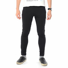 Mens Slim Fit Tracksuit Bottoms Skinny Jogging Joggers Sweat Pants Trousers