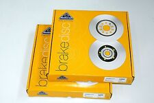 Front Brake Discs Set to fit Ford Focus 2.5 ST ST225 (Fits: Focus [MK II])