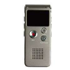 Rechargeable 8GB Digital Audio Dictaphone Telephone MP3 Player Voice Recorder