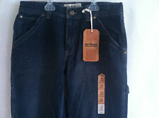 NWT Urban Pipeline Carpenter Relaxed Bootcut Adj Waist 2color Jeans BoySz.14H,16