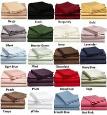 1000 TC FLAT SHEET+PC,100% EGIPITION COTTON 12 COLORS AVAILABLE IN ALL SIZES