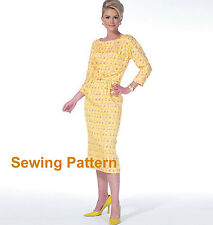 McCalls M7086 Archive Collection 1963 PATTERN- Misses/Womens Dresses Size 8-24W