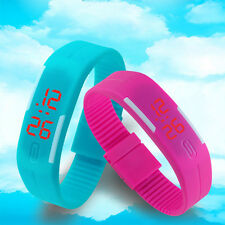 12 Colors Cute Watches Jelly Silicone Wristwatch Children Watch Infantil Watches