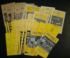 Watford Home Programmes 1959-1969 **FREE POSTAGE IN UK**