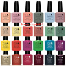 2017 New CND Shellac UV Nail Polish Choose from ANY Colours Base/Top Coat UK