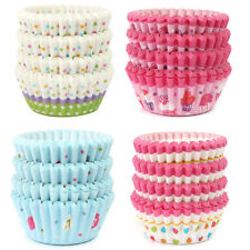 100Pc Soft Round Cake Cupcake Liner Muffin Paper Tray Case Oven Baking Bake Mold