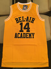 FRESH PRINCE OF BEL AIR BASKETBALL JERSEY - WILL SMITH # 14 SEWN AND STITCHED