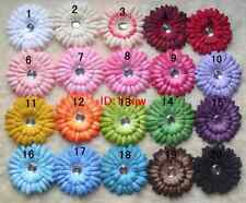 lot Girl Daisy Flower Hairclip Infant Hair baby hair accessories fashion bows