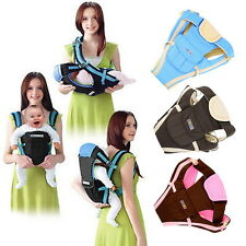 Adjustable Baby Carrier Infant Newborn Kid Comfort Wrap Rider Sling Backpack WP