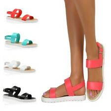 Summer Slingbacks Strappy Sandals Flatforms Cleated Shoes Wedged Wedges Peep Toe