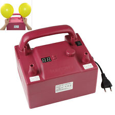 110V/220V 680W Red Portable Two Nozzle Air Blower Electric Balloon Inflator Pump