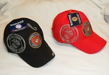 U.S. MARINES U.S.M.C OFFICIALLY LICENSED Shadow Cap With Seal Baseball Cap Hat