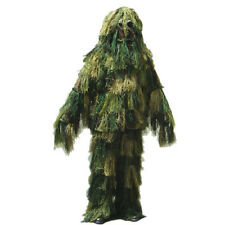 Condor WOODLAND Ghillie Suit Set Jacket Pants Hood & Stuff Bag Fire Retardant PP