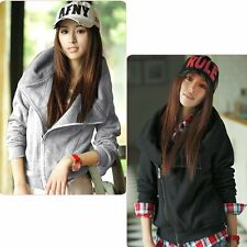 3 Hoodies Coat 4 Color Women Size Jacket New Slim Designed Korean Top Sexy