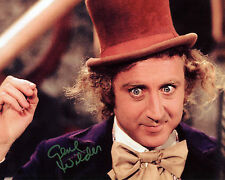 Gene Wilder - Willy Wonka & the Chocolate Factory - Signed Autograph REPRINT