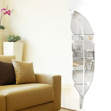 Removable Home Mirror Wall Stickers Decal Art Vinyl Room Decor DIY New