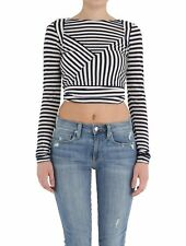 BNWT MSRP $215|Women's Blue & White T-Julie Top by Diesel [Size XS, S]