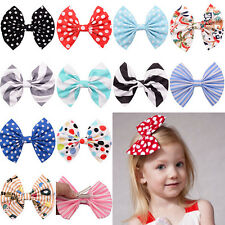 1 Pcs Cute Bow Butterfly Hair Clip Polka Dot Head Hair Acessories For Girls