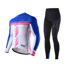 Men's Long Sleeves Cycling Suit Bike Bicycle Suit Shirts & Pants