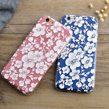 Slim Pattern Clear Silicone TPU Case Protective Cover For iPhone 6 6S 6/6S Plus