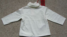 Elle Baby Girls Cream Polo Neck Size; 6 mths BNWT