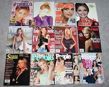SARAH MICHELLE GELLAR 11 Magazines BUFFY the Vampire Slayer SMG BVS Cover Story