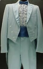 AFTER SIX BLUE RETRO TAIL TUX JACKET or 4pc RETRO AFTER SIX TUXEDO VINTAGE MENS