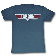 Top Gun T-Shirt Logo Blue Heather T-Shirt