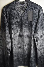 BNWT MSRP $398|Men's Merino Wool V-Neck Sweater by Phil Petter [Size XL, XXL]