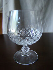 Vintage Cut Glass Stemmed Brandy Snifter 271610
