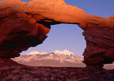Art print POSTER Tukanikivatz Arch and La Sal Mountains