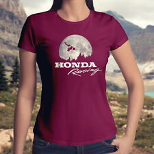 ET Flying Bicycle Scene Honda Motocross Freestyle Junior Womens Tee Top T-Shirt