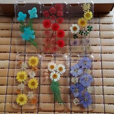Dry pressed flower hard phone case for iPhone 4/4s/5/5s/5c/6/6plus birthday gift