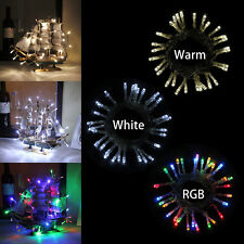 4M 40Led Battery Operated String Fairy Light Party Wedding Christmas Decoration
