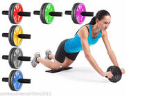 Abs Abdominal Exercise Wheel Gym Fitness Body Strength Training Roller Foam