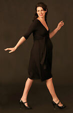 Picchu Maternity Wrap Dress, Black and all sizes, RRP £65, Brand new with tags